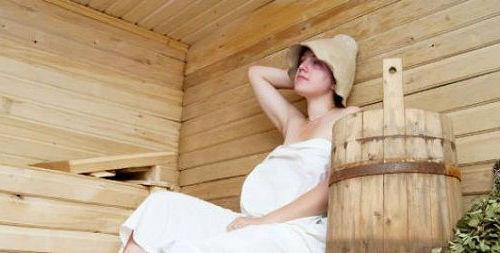 Можно ли греться в бане при беременности