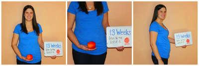 13 неделя беременности: что происходит с мамой и малышом
