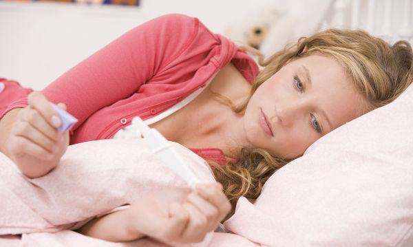 Молочница перед месячными признак беременности