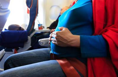 Перелет беременных на самолете на поздних сроках