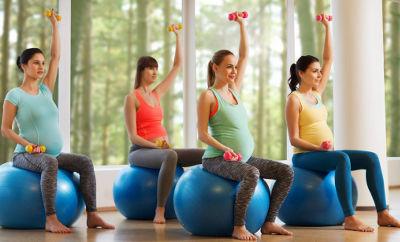Какой спорт лучше для беременных