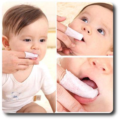 Как убрать налет с языка у новорожденного