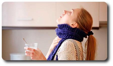 Ромашка при простуде: полоскание горла при беременности